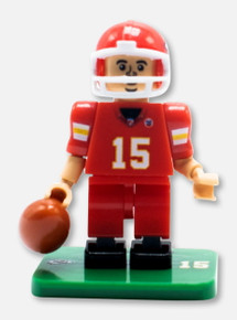 Texas Tech Red Raiders Lego Compatible Kansas City Chiefs Pat Mahomes #15 Collectible Mini Figure
