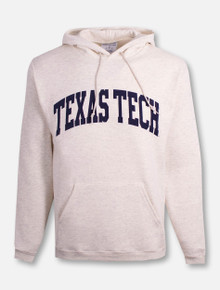 "Champion Texas Tech Red Raiders ""Powerblend"" Fleece Pullover Hoodie"