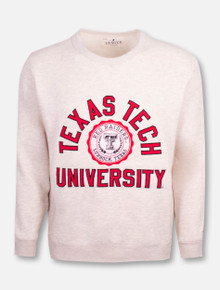 "League Texas Tech Red Raiders Black and White Double T ""Stadium"" Crew"