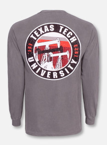 "Texas Tech Red Raiders ""Oil Derrick"" Long Sleeve T-Shirt"