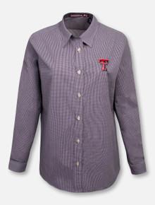 """RRO Signature Collection Texas Tech """"The Boss"""" Women's Button Down Polo"""