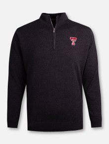 "RRO Signature Collection Texas Tech Double T ""IPO"" Merino 1/2 Zip Pullover"