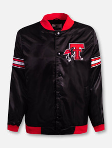 "G-III  Texas Tech Red Raiders Throwback Double T with Rearing Rider ""Hard Nose"" Jacket"