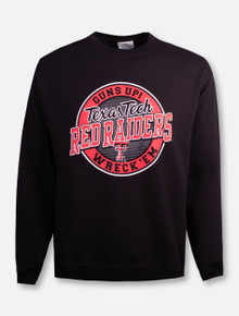 "Champion Texas Tech Red Raiders Double T ""Hightop"" Crew Sweatshirt"