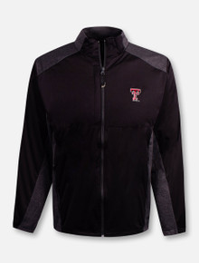 "Antigua Texas Tech Red Raider Double T ""Revolve"" Full Zip Jacket"