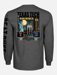 "Texas Tech vs. Duke ""Battle for the Big Apple"" Long Sleeve T-Shirt"