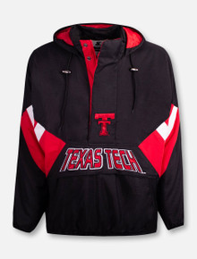 """Texas Tech Red Raiders Throwback Double T """"90's Throwback"""" Starter Pullover"""