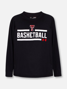 """Under Armour Texas Tech Red Raiders """"Chalkboard"""" YOUTH Long Sleeve T-Shirt"""
