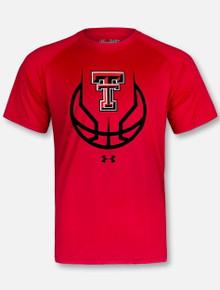 "Under Armour Texas Tech Red Raiders ""3 Ball"" Short Sleeve T-Shirt"