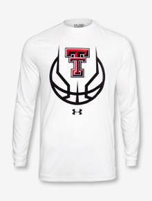 "Under Armour Texa Tech Red Raiders ""3 Ball"" Long Sleeve T-Shirt"