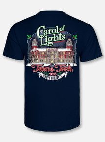 "Texas Tech Red Raiders ""Carol of the Lights"" Celebration 2018 Short Sleeve T-Shirt"