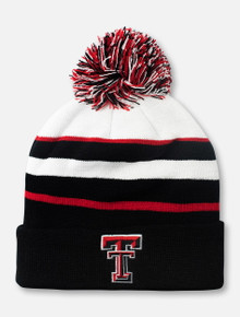 "Top of the World Texas Tech Red Raiders Double T ""Skyview"" Cuffed Knit Beanie"