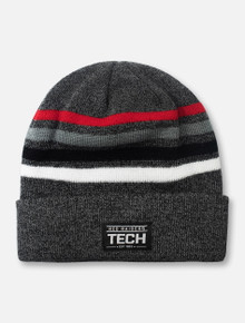"""Top of the World Texas Tech Red Raiders """"Upland"""" Cuffed Knit Beanie"""