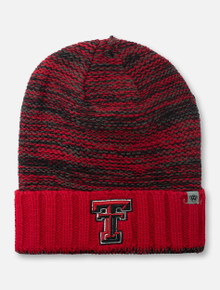 "Top of the World Texas Tech Double T ""Oblique"" YOUTH Knit Beanie"