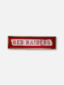 Texas Tech Red Raiders Distressed Wall Decor