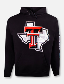 "Champion Texas Tech Red Raiders ""Shattered Pride"" Hoodie Pullover"