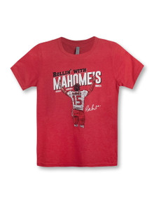 """Texas Tech Red Raiders """"Rollin' With Mahomes"""" YOUTH T-Shirt"""
