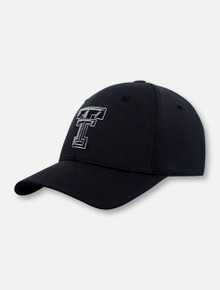 """Top of the World Texas Tech Red Raiders """"Phenom"""" Memory Foam Stretch Fit Cap"""