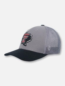 "Top of the World Texas Tech Red Raiders ""Tum II"" Snapback Cap"