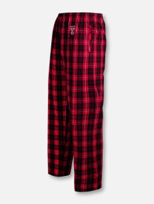 Texas Tech Red Raiders Double T Plaid Flannel Pant