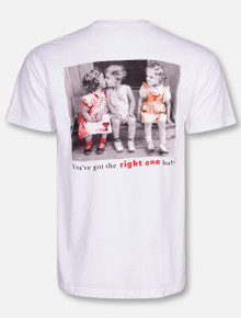 "Texas Tech Red Raiders  Texas Tech vs. UT ""You've Got the Right One Baby"" T-Shirt"
