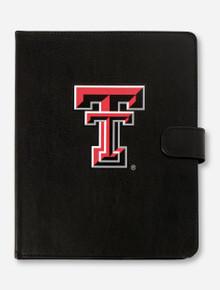 Guard Dog Texas Tech Double T on Black Leather iPad Air 2 Folio Case