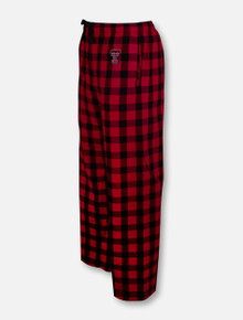 Texas Tech Red Raiders Double T Plaid Adult Flannel Pant