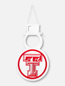 Texas Tech Red Raiders Double T Snowman Wall Decor
