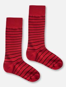 Texas Tech Red Raiders Striped Dress Socks