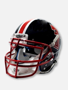 Schutt Texas Tech Red Raiders '75 - '83 Throwback Black & Red Authentic Helmet