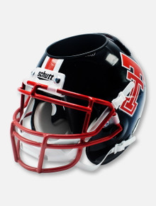 Schutt Texas Tech '75-'83 Throwback Black with Red Facemask Mini Desk Caddy