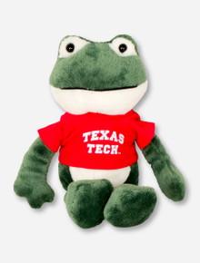 Texas Tech Plush Frog in Tech T-Shirt