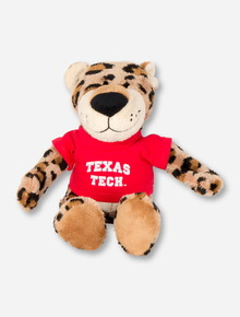 Texas Tech Plush Leopard in Tech T-Shirt