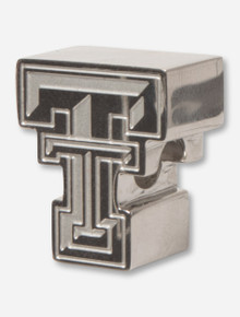 C-Note Texas Tech Double T Stainless Steel Bead