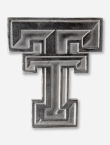 DaynaU Texas Tech Large Double T Sterling Silver Charm or Pin