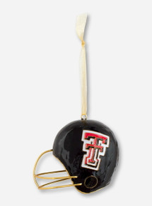 Kitty Keller Cloisonne Helmet Ornament - Texas Tech