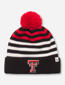 "47 Brand Texas Tech ""Yipes"" YOUTH Black, Red & White Beanie"