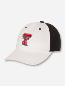 The Game Texas Tech Double T on YOUTH White & Black Cap