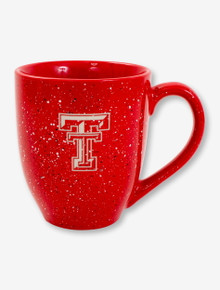 Texas Tech Double T on Speckled Coffee Mug