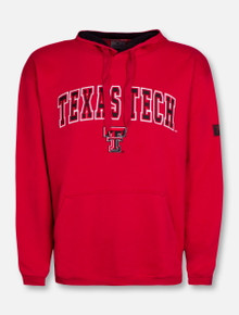 Arch Over Double T on Red Hoodie