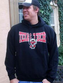 Texas Tech Bowtie Black Hoodie