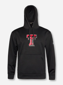 Under Armour Texas Tech Double T on Black Hoodie 4