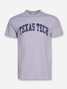Classic Texas Tech Arch on Heather Grey T-Shirt