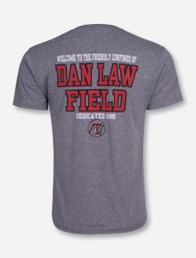 Texas Tech Dan Law Field Baseball Heather Grey T-Shirt