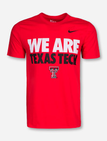 Nike We Are Texas Tech Red T-Shirt