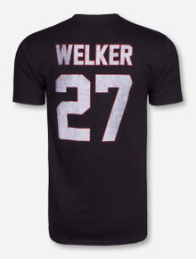 Retro Brand Spring Game Old School Welker Black T-Shirt - Texas Tech
