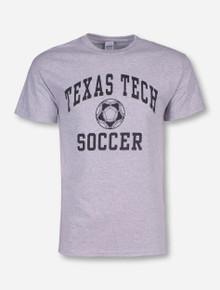 Texas Tech Soccer Heather Grey T-Shirt