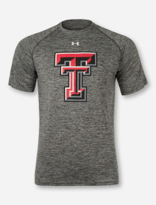 """Under Armour Texas Tech """"Twisted"""" Carbon T-Shirt"""