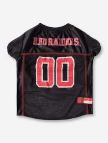 Texas Tech #00 Black Pet Jersey