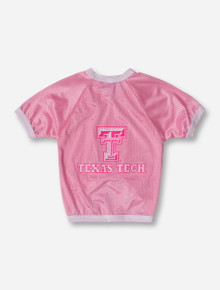 Texas Tech Pink Mesh Pet Jersey